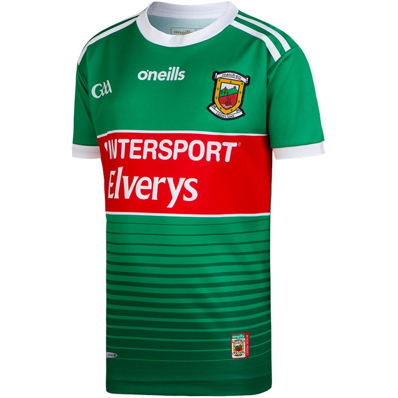 Mayo GAA Home 2-Stripe Jersey (Kids)