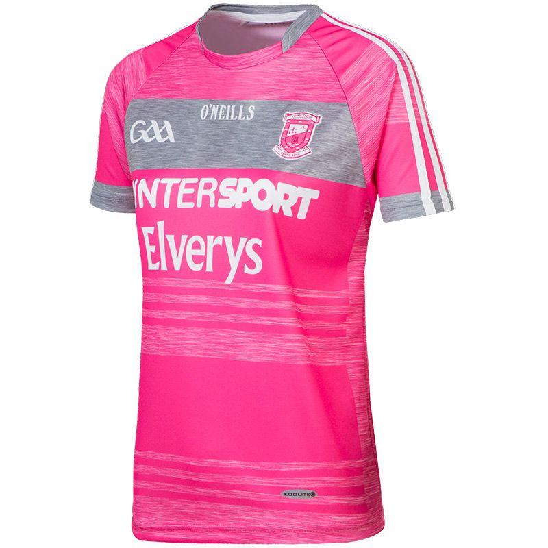 Mayo GAA Womens Fit Jersey (Pink)