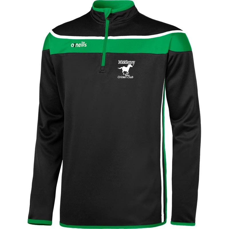 Middlezoy Cricket Club Auckland Squad Half Zip