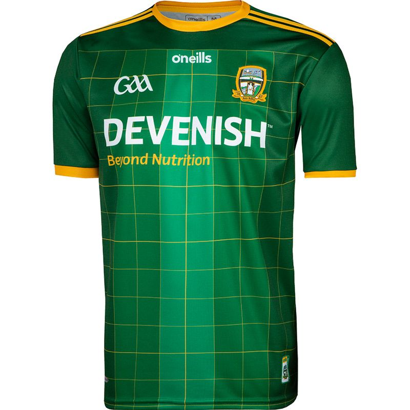Meath GAA 2 Stripe Home Jersey