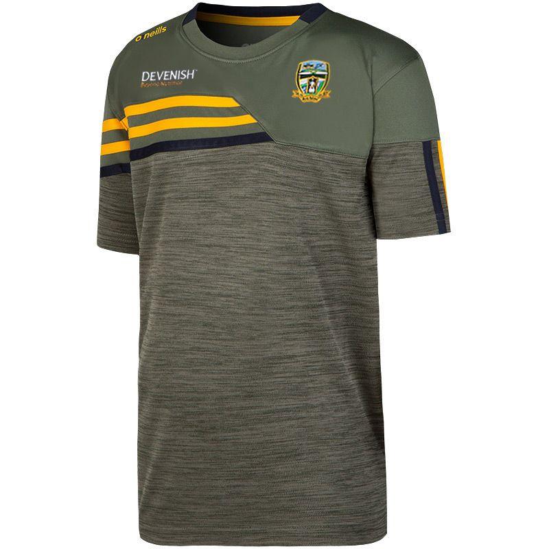 Meath GAA Kids' Nevis T-Shirt Green / Yellow
