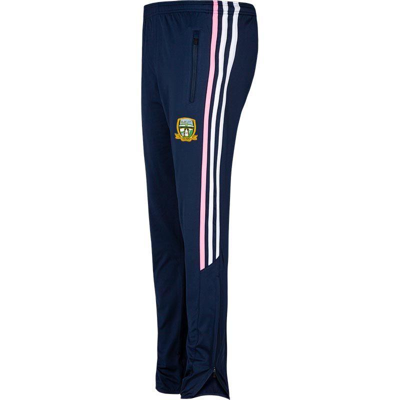 Meath GAA Kids' Nevis Brushed Skinny Pants Marine / White / Pink