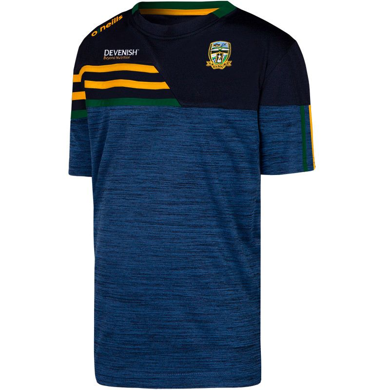 Meath GAA Kids' Nevis T-Shirt Marine / Amber