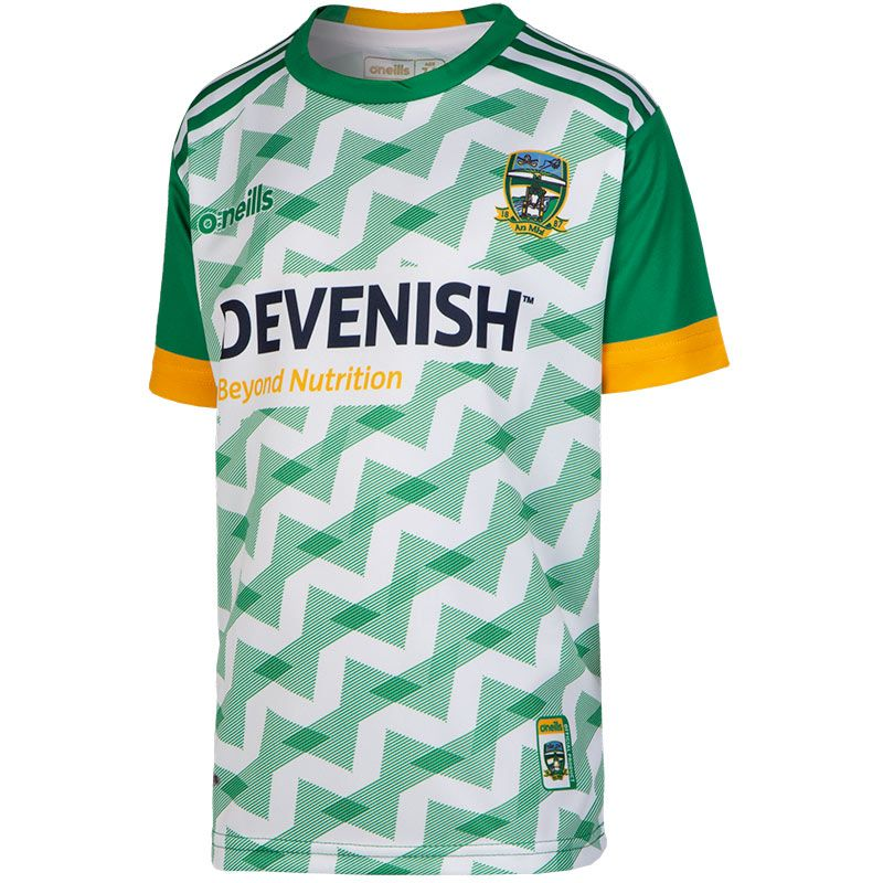 Meath GAA Kids' Short Sleeve Training Top