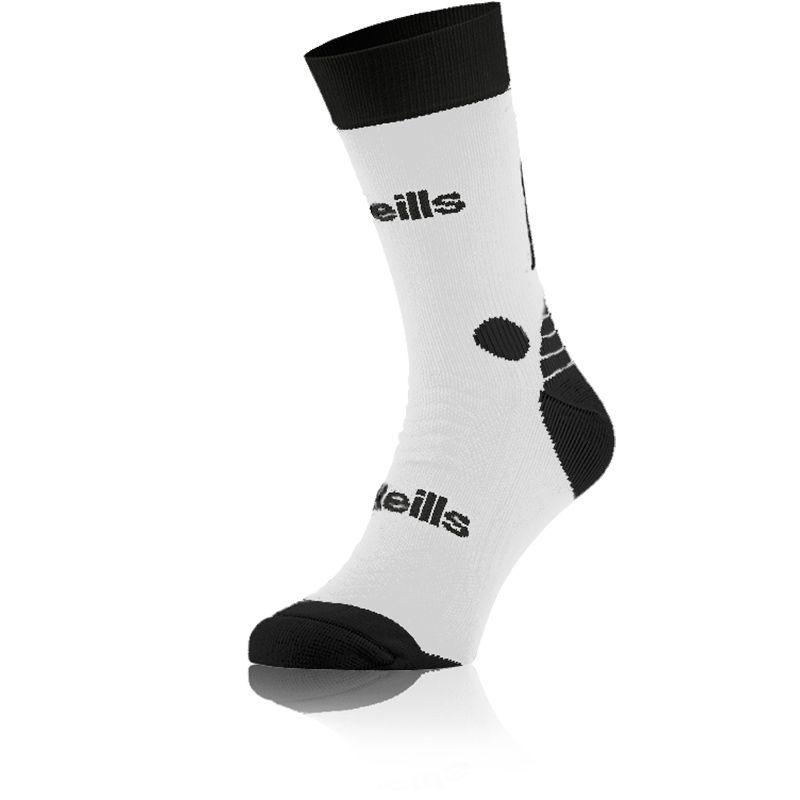 Kids' Koolite Pro Midi Socks White / Black