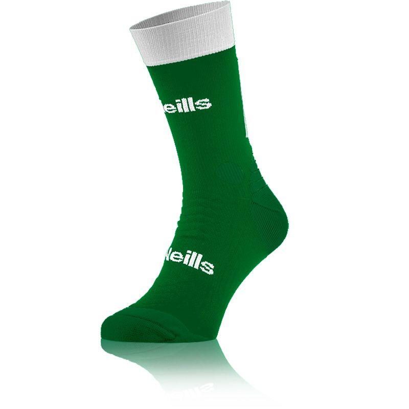 Koolite Pro Midi Socks (Green/White) (Kids)