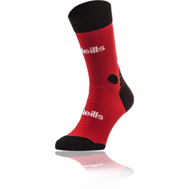 Kids' Koolite Pro Midi Socks Red / Black