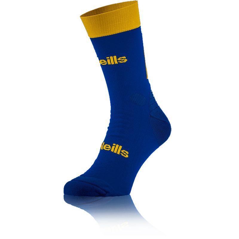 Kids' Koolite Pro Midi Socks Royal / Amber