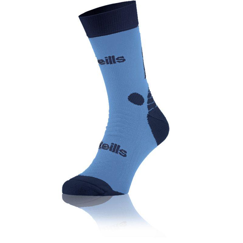 Koolite Pro Midi Socks (Sky/Navy)