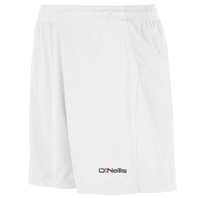 Milano Soccer Shorts White Kids