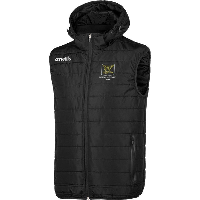 Miseal Juvenile Club Solar Mens Hooded Gilet
