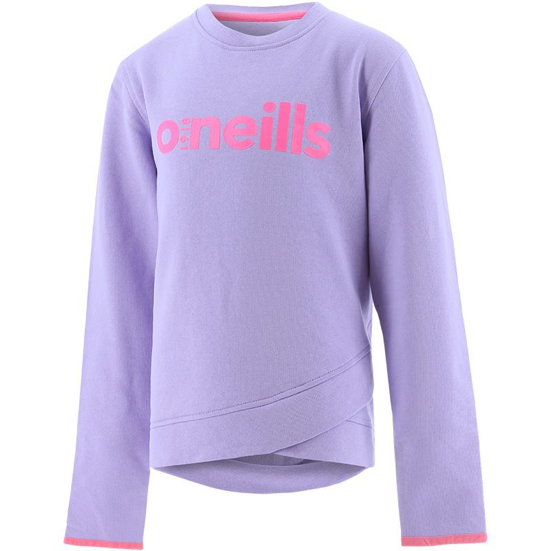 Kids' Mollie Fleece Sweatshirt Purple / Pink