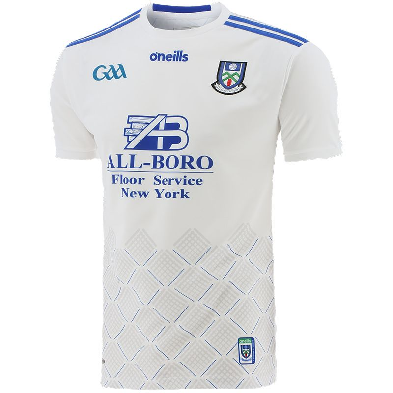 Monaghan GAA Player Fit 2-Stripe Home Jersey