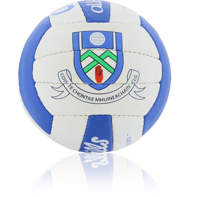 Monaghan GAA All Ireland Mini Gaelic Football Royal / White