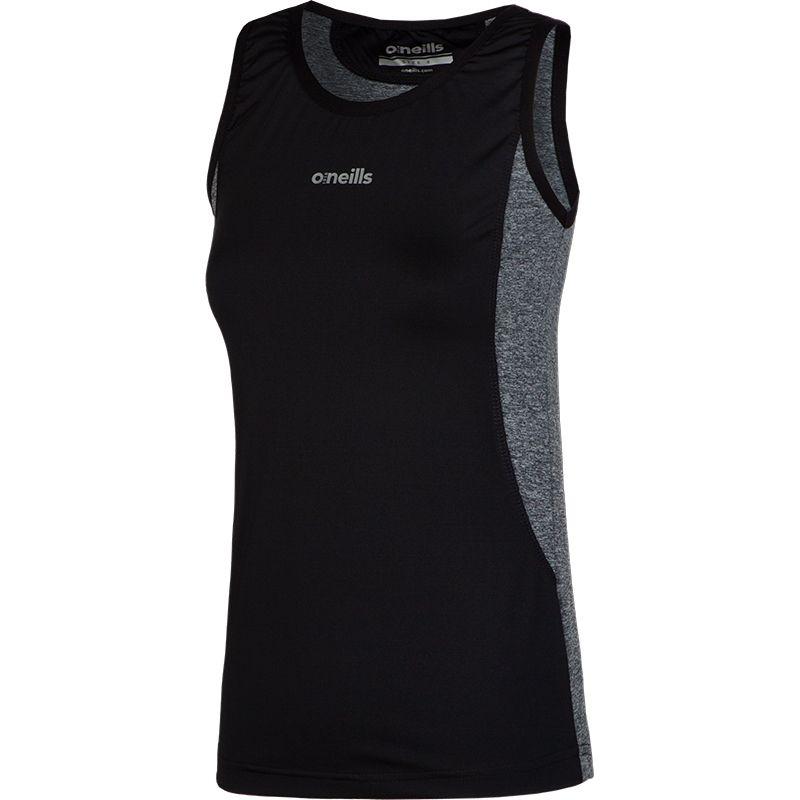 Women's Montana Stretch Vest Black / Grey