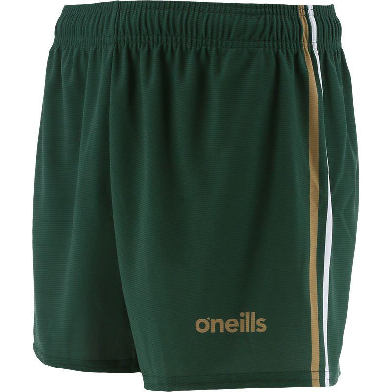 Kids' Mourne Shorts Green / Amber / White