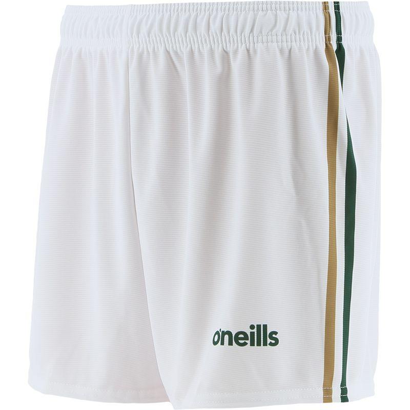 Kids' Mourne Shorts White / Gold / Green