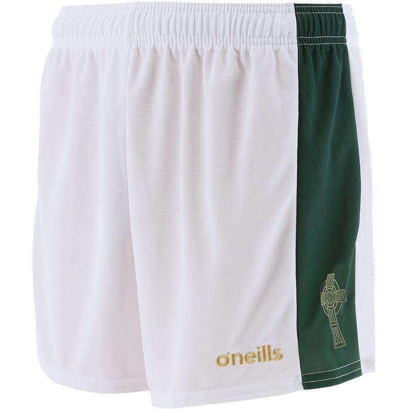 Kids' Mourne Celtic Cross Shorts White