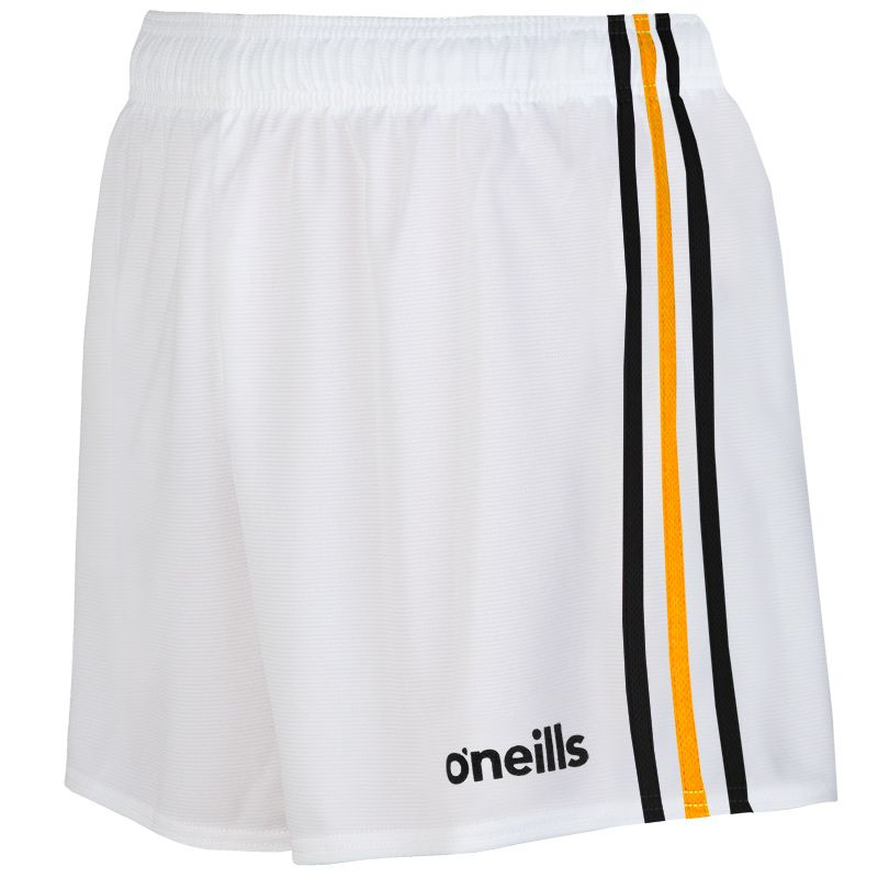 Mourne Shorts (White/Black/Amber)