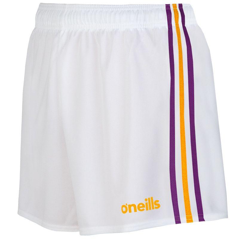 Mourne Shorts Kids (White/Purple/Amber)