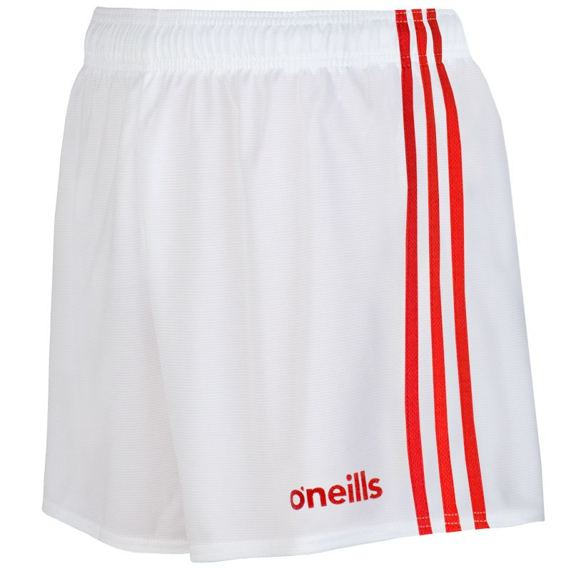 Kids' Mourne Shorts White / Red