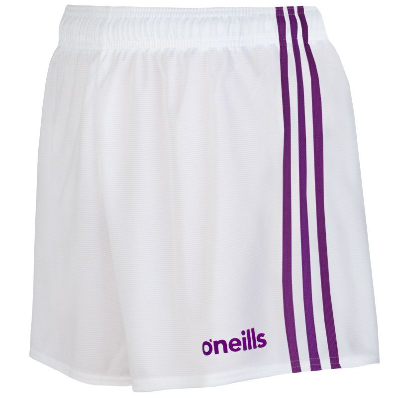 Kids' Mourne Shorts White / Purple