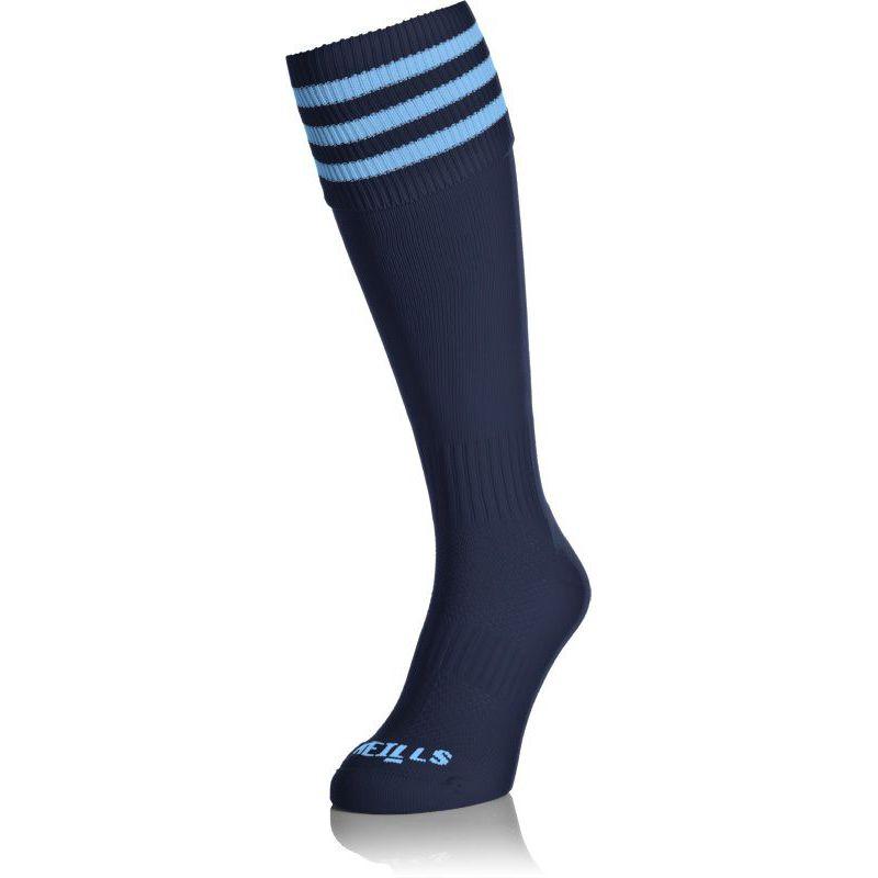 Kids' Premium Socks Bars Navy / Sky