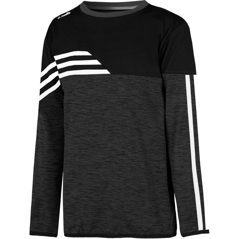 Kids' Nevis Brushed Sweatshirt Black / White