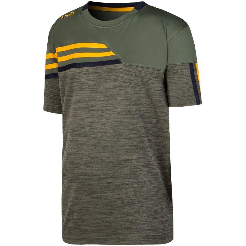 Kids' Nevis T-Shirt Green / Yellow