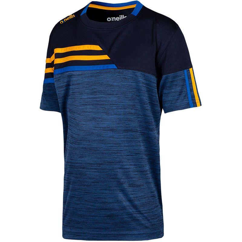 Kids' Nevis T-Shirt Marine / Amber