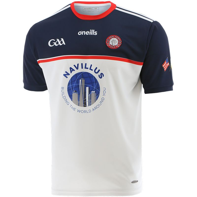 New York GAA Home Player Fit Jersey