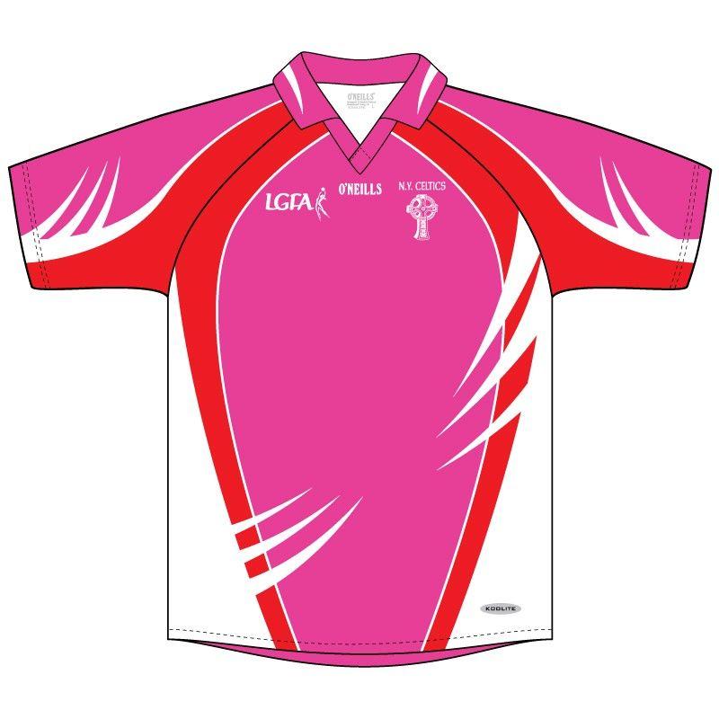 New York Celtics Pink GAA Jersey