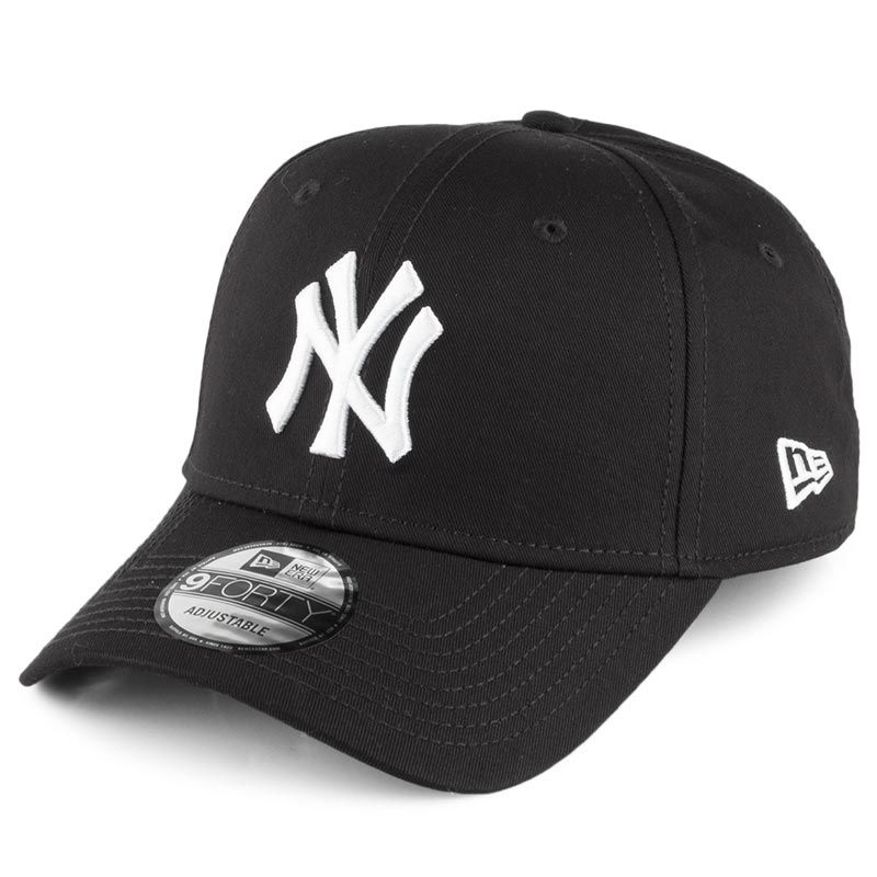 New Era 9FORTY New York Yankees Baseball Cap Black