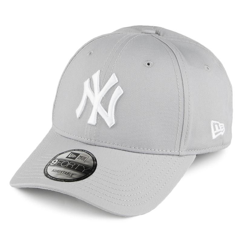 New Era 9FORTY New York Yankees Baseball Cap Grey