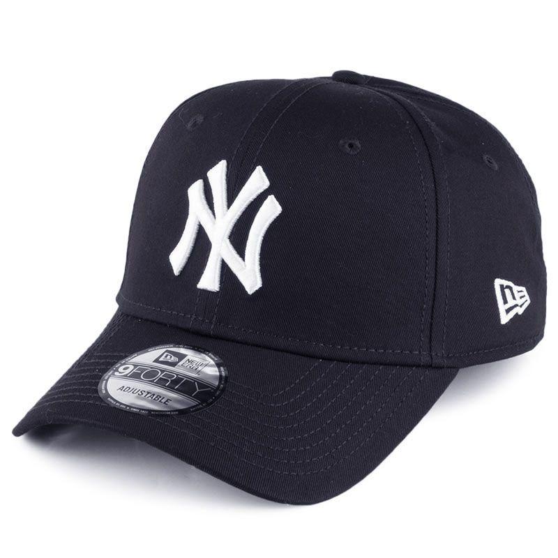 New Era 9FORTY New York Yankees Baseball Cap Marine