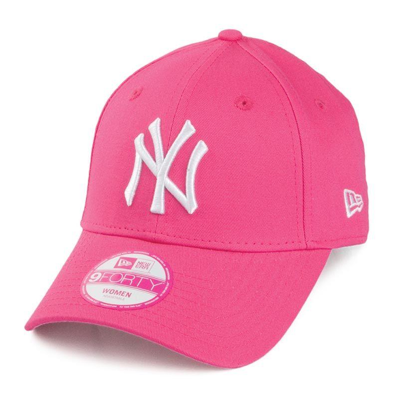 New Era 9FORTY New York Yankees Baseball Cap Pink