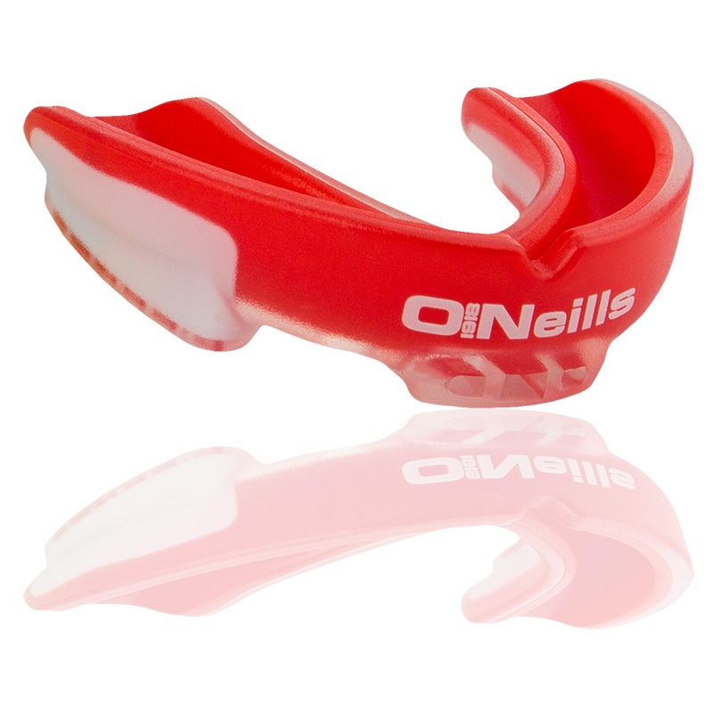 Gel Protector Mouth Guard (Red/White)