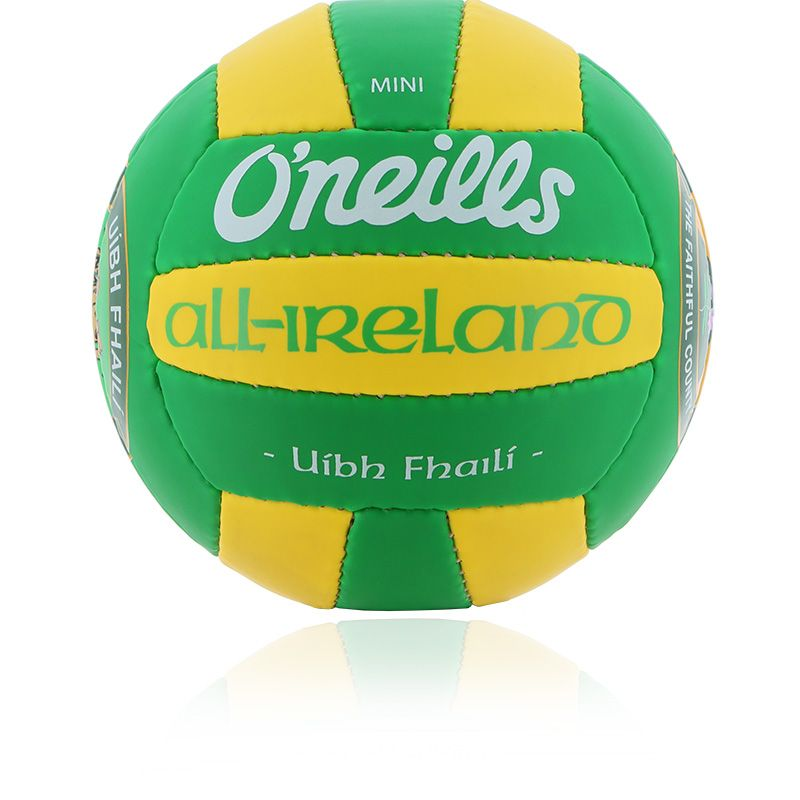 Offaly GAA All Ireland Mini Gaelic Football Emerald / Amber / White