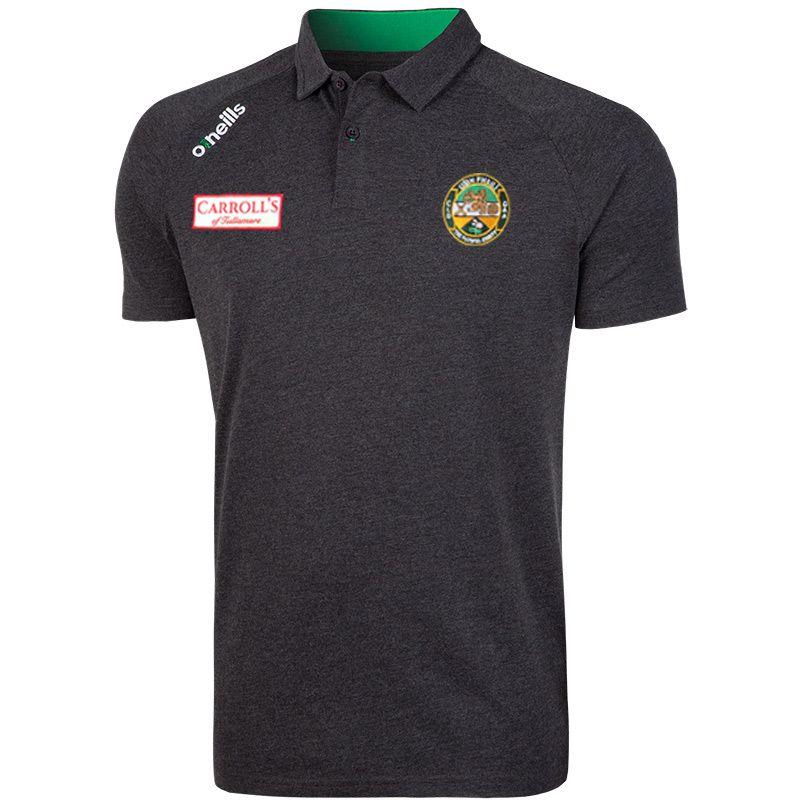 Offaly GAA Aspen Polo (Marl Black/Emerald)