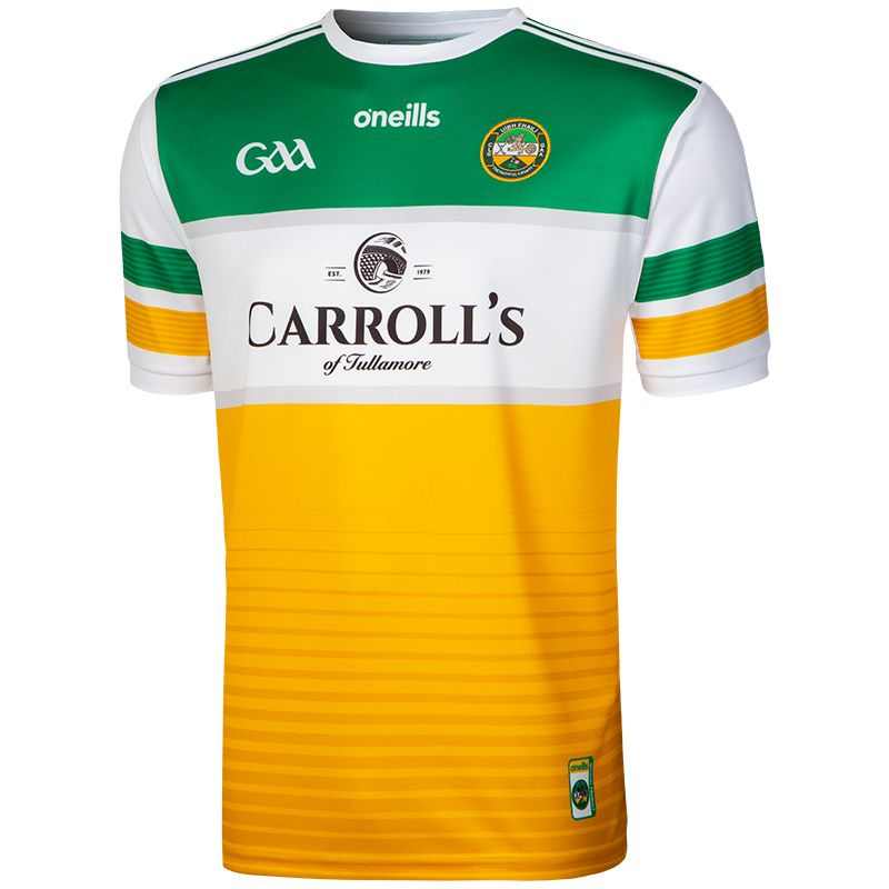 Offaly GAA 2-Stripe Player Fit Home Jersey