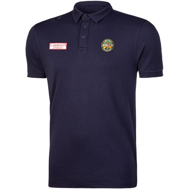 Offaly GAA Pima Cotton Polo (Marine)