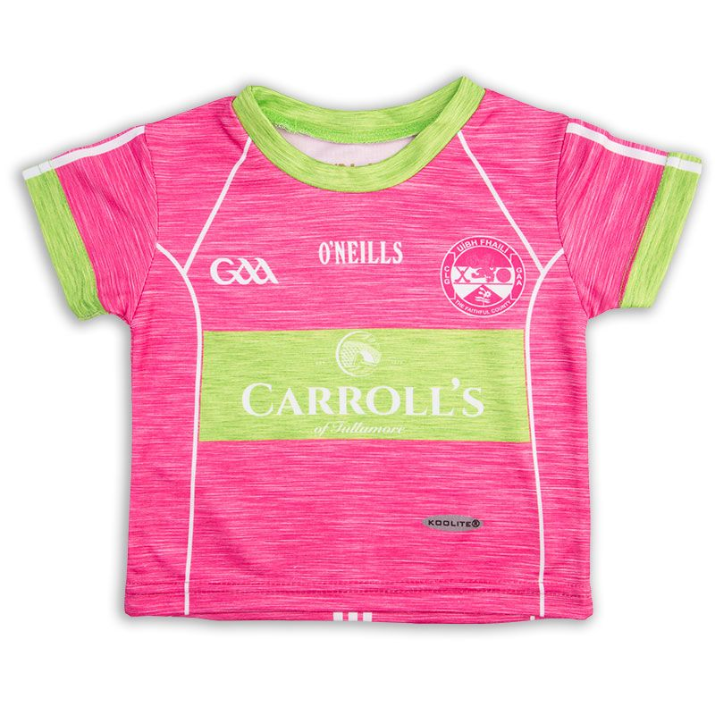 Offaly GAA Baby Jersey (Pink)
