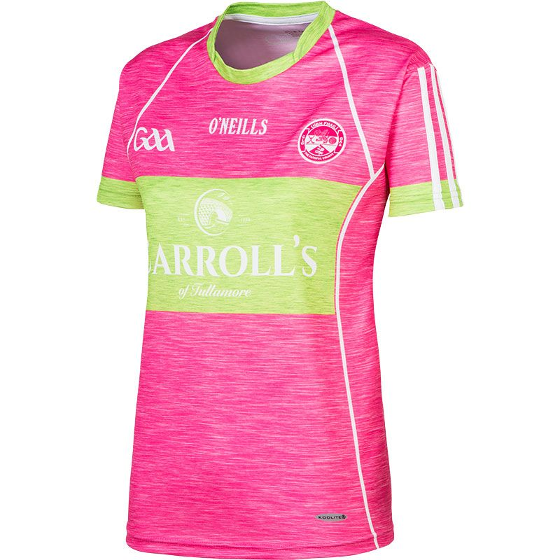 Offaly GAA Womens Fit Jersey (Pink)