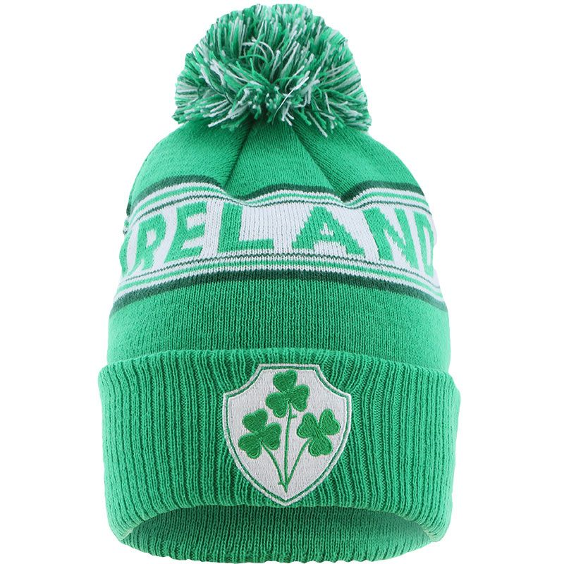 Ireland Knitted Bobble Hat