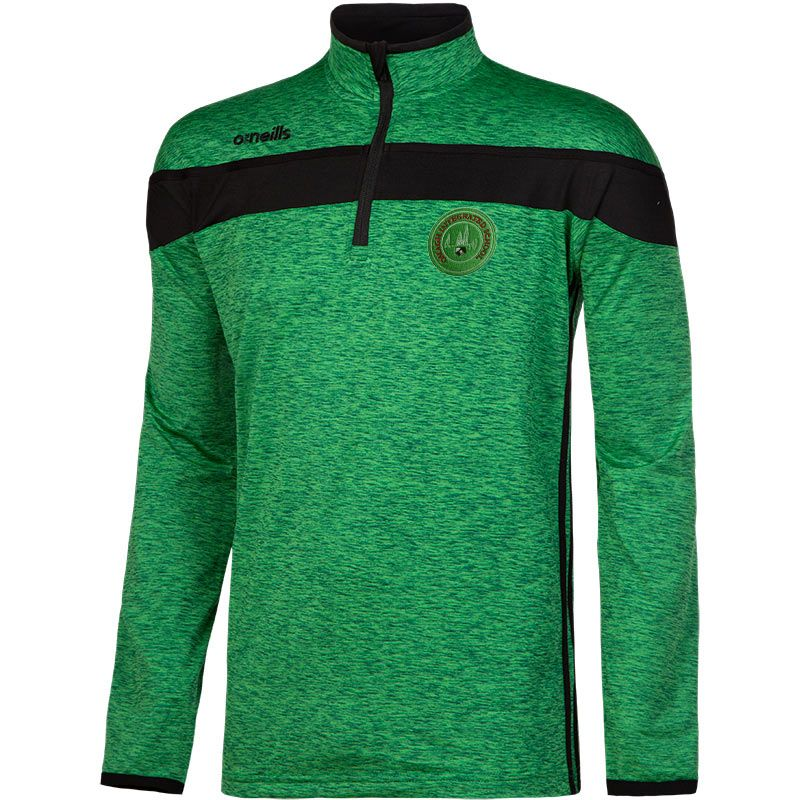 Omagh Integrated PS Kids' Auckland Half Zip Brushed Top (Optional)