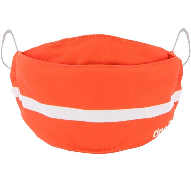 Kids' Reusable Face Mask Orange / White