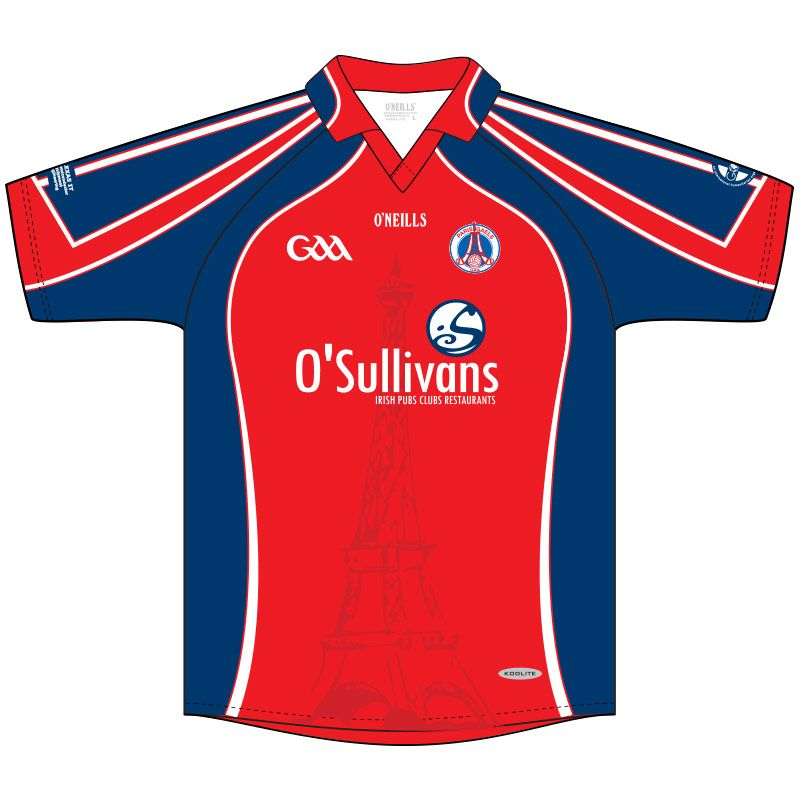 Paris Gaels GAA Keepers Jersey (Red)
