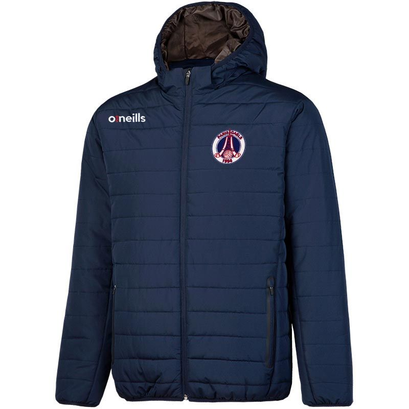 Paris Gaels GAA Solar Mens Hooded Padded Jacket