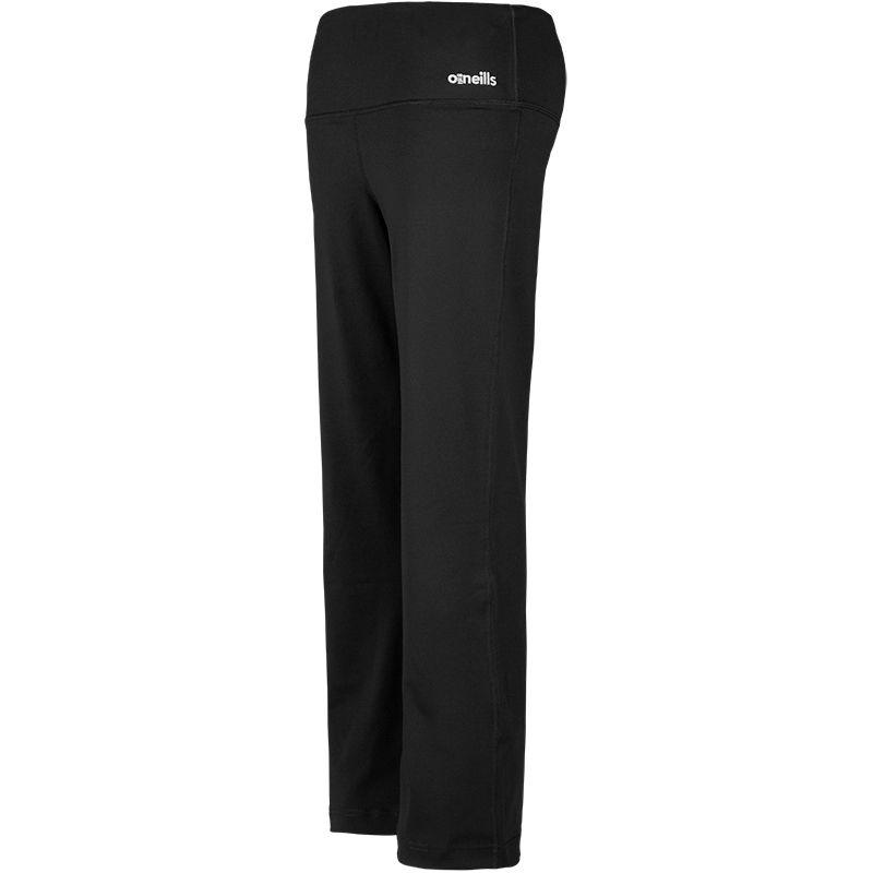 Women's Piper Short Leg Relaxed Fit Bottoms Black