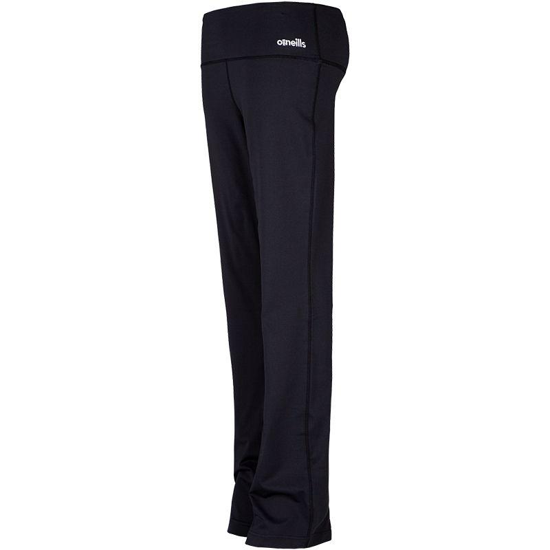 Women's Piper Long Leg Relaxed Fit Bottoms Black
